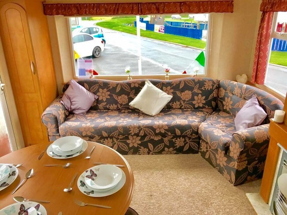 Cheap, Special Priced Static Caravan For Sale On A Seaside Holiday Park In Northumberland