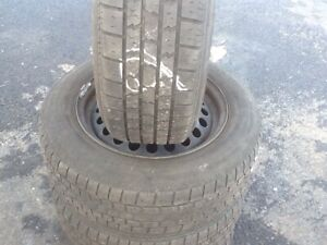 "P195/65R15"" TIRES on CIVIC RIMS-$200"