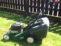 Self prepel mower