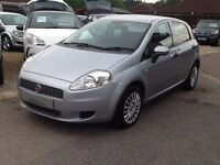 FIAT GRANDE PUNTO 1.3 MULTIJET 16v ACTIVE IN SILVER 5DR DIESEL + £30 TAX,DRIVES WELL