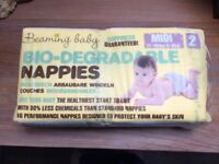 Beaming Baby Biodegradable Nappies Size 2 X 40 RRP £10.49