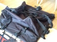 Car roof bag - only used a few times - fits any car