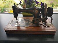 Antique Frister & Rossmann German Sewing Machine, c1896