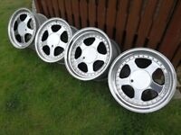 Classic Rims Keskin KT1 17's PCD 4x100 J8,5/J10 BMW E30,VW GOLF VR6 not O.Z,BBS