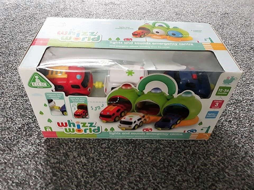 ELC Whizz World Lights & Sounds Emergency Centre - *Brand new in box* RRP £25