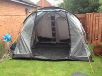 Vango Icarus 500 tent + Awning + Windbreaker