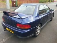impreza turbo with 12 months mot £1500 no offers