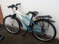 """Apollo Twilight 26"""" Ladies Mountain Bike with Sports Tourer Rack & Double Pannier"""