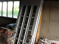 6 glass panel doors