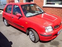 NISSAN MICRA, 12 MONTH MOT, LOW MILES, FULL SERVICE HISTORY