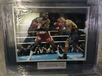 Brand new Frank Bruno Signed Boxing Photo in Frame