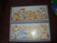 framed nursery prints