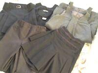 Grey school uniform bundle £15 the lot! Including white shirts.