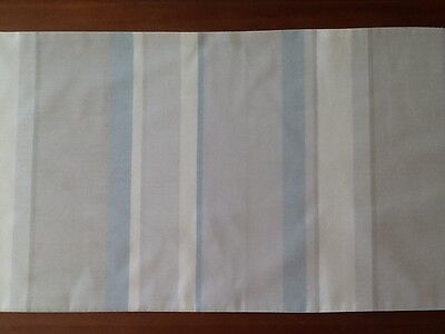 Awning Stripe Bedding - Bed Runner in Laura Ashley Awning Stripe Fabric - Hand Made - New!
