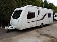 Swift Challenger 540 4 berth caravan 2012 ,FIXED BED, MOTOR MOVER, Awning !!