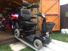 HUGE ALL TERRAIN PRIDE CELEBRITY X SPORT MOBILITY SCOOTER - 25st - 25MILES - 8MPH ( I CAN PART EX )