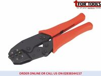 Sealey ak385 Ratchet Crimping Tool Insulated Terminals