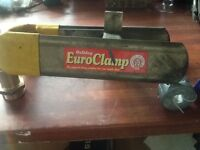 Bulldog Euroclamp wheel clamp in excellent condition & very easily installed...peace of mind!