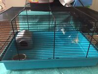 Small hamster cage (no water bottle)