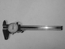 Vernier, Stainless Steel, with dial
