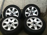 BMW Alloys with tyres