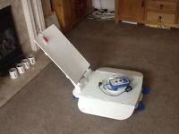 Aqua joy bath lift with charger unit