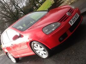 2004 VOLKSWAGEN GOLF 2.0 FSI GT WITH LEATHER AND 12 MONTHS WARRANTY INCLUDED