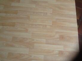 Laminate flooring, Beech Effect.