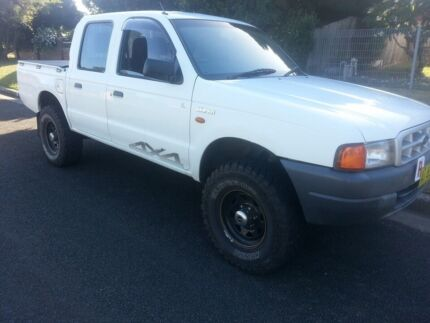 2001 Ford Courier Ute Ferntree Gully Knox Area Preview
