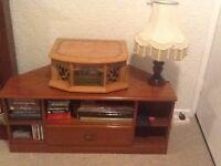 Phonograph AM/FM Radio Cassette & CD Player