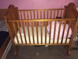 Mamas & papas cot WITHOUT mattress