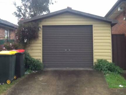 Garage Colourbond Metal and Timber Frame Seven Hills Blacktown Area Preview
