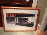 Picture in Pine Frame
