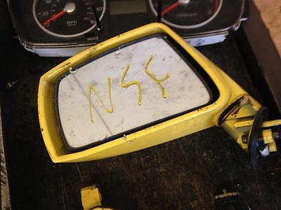 2004 GK HYUNDAI COUPE 2.0 PETROL ELECTRIC YELLOW PASSENGER SIDE LEFT WING MIRROR
