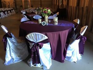 Eggplant Wedding Decor