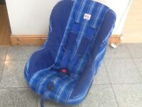For 9kg upto 18kg(9mths to 4yr old)-Britax Eclipse group 1 car seat-reclines and is washed & cleaned