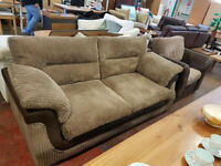 Corduroy 2 set sofa and an armchair in excellent condition