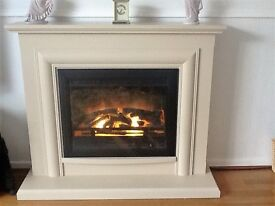 Electric Fireplace Suite very good condition comes complete
