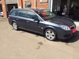 Low mileage Vauxhall Vectra Estate..Elite