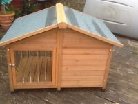 Dog house suit medium size dog I.e. Pug/Jack Russell