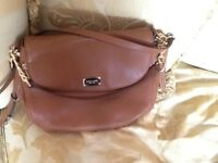 FOR SALE, GENUINE MICHAEL KORS LEATHER SHOULDER/CROSSBODY BAG BNWT, MRRP. 340