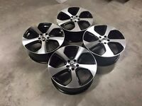 "4BOXED+NEW 18"" ALLOYS WHEELS VW MONZA STYLE GTI GTD GOLF R R32 TDI TOURAN CC LINE POLO TT SEAT AUDI"