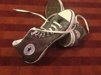 Converse all star used shoes