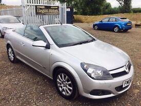 2008 Vauxhall Astra Convertible**1 OWNER**FULL MAIN DEALER SERVICE STAMPS**FRESH MOT**FOG LIGHTS*
