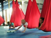 Restorative Aerial Yoga Workshop Saturday 29th April 1-3pm