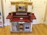 Step2 lifestyle party time play kitchen - robust for multi kids play
