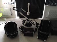 bebecar iop Revolution all accessories included. 11 months old barely used. Pet and smoke free home