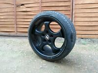 17 inch Bmw Brock B2 Alloy Wheels and Tyres (will fit e36,e46,330,M6,Mv2,m3,bbs,split)