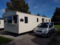 Lovely modern 6 berth caravan to rent private hire on Haven Marton Mere Blackpool