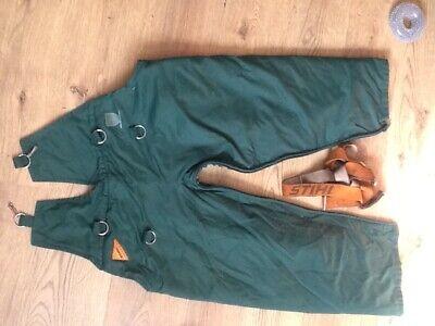 Stihl Chainsaw Trousers & Braces L/XL